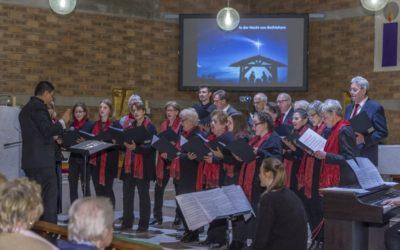 Weihnachtskonzert des Chores Anger Vokal