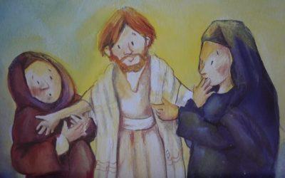 Der ungläubige Thomas – in Bildern und Liedern erzählt.
