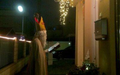 Der Nikolaus war auf Besuch