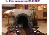 1. Fastensonntag, Gedanken zum Evangelium vom 21. Februar 2021