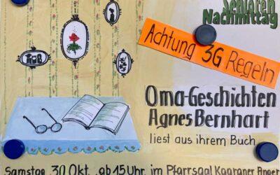 Seniorennachmittag 30. Oktober 2021